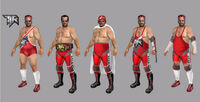 Dead rising 2 Off the Record concept art from main menu art page frank as wrestler (2)