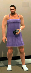 Dead rising clothing Purple Dress