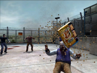 Dead rising pet food zombies falling