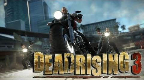 Motorcycle Gang Boss Fight - Dead Rising 3 Gameplay
