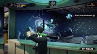 Uranus zone carnival games alien saucers with bat -- mole and satelite