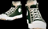 Dead rising Black Canvas Sneakers
