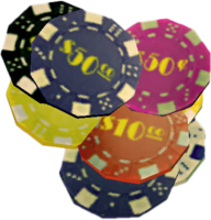 Dead rising Casino Chips Loose