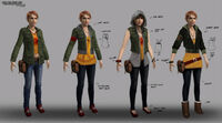 Dead rising 2 Off the Record concept art from main menu art page stacey