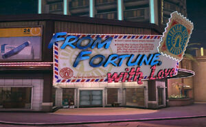 Dead rising From Fortune With Love (Uranus Zone)