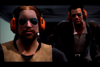 Dead rising mobile ed in helicopter with frank