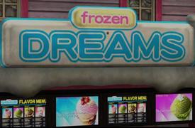 Frozen Dreams Sign PP Sticker