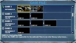 Case 3-1 Confronting CURE It looks like CURE was responsible for the outbreak! Time to see what Stacey really knows...