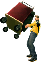 Dead rising drink cart holding