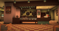 Dead rising Cheesecake mania interior
