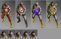 Dead rising 2 Off the Record concept art from main menu art page zombies wrestlers beginning game (2)