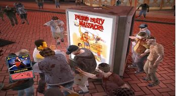 Dead rising Paddlesaw poster location
