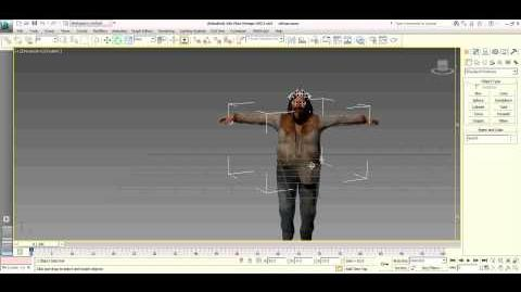 Dead rising autodesk 3d cletus rotation moving arms