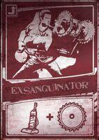 Exsanguinator scratch card