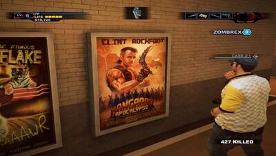 Dead rising Decapitator poster location
