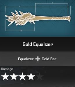 Gold Equalizer DR4 Blueprint
