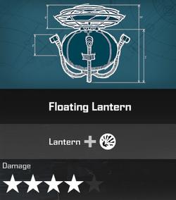 Floating Lantern DR4 Blueprint