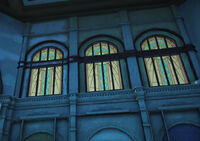 Dead rising stain glass above undies store in south plaza (3)