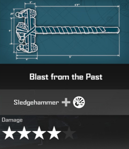 Blast from the Past Blueprint 2