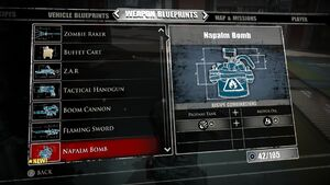 Napalm Bomb Blueprints