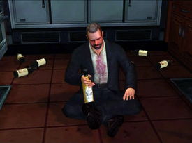 Dead rising The Drunkard Gil drinking (2)