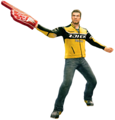 Dead rising foam hand main