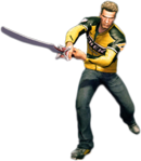 Dead rising katana sword combo 3