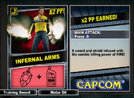 Dead rising 2 combo card Infernal Arms