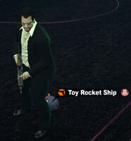 Dead rising toy rocket ship name