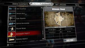 Ultimate Shout Blueprints