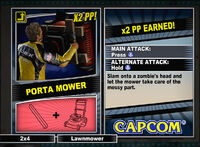 Dead rising 2 combo card Porta Mower