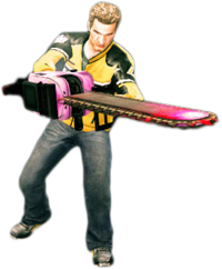 Dead rising giant pink chainsaw main