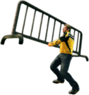 Dead rising metal barricade main
