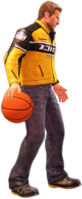 Dead rising basketball holding