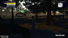 Dead rising infinity mode hall family on park shelter