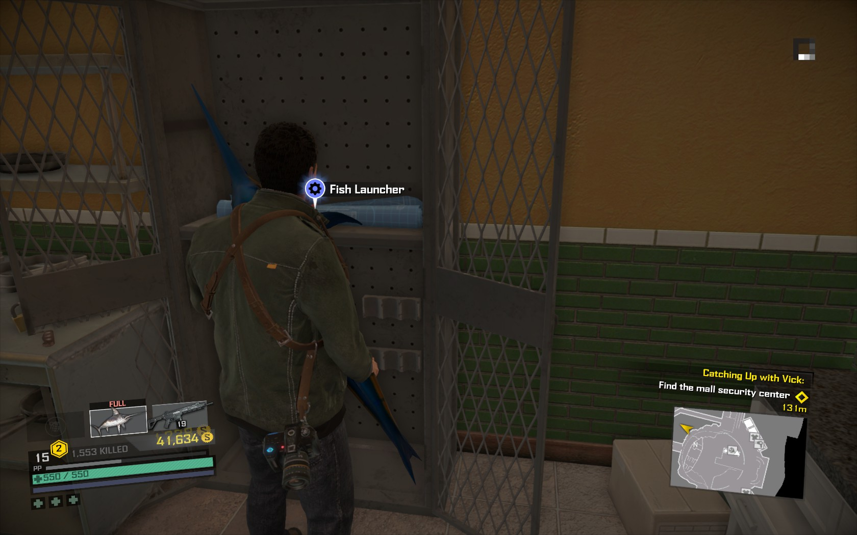 Image fish launcher blueprint locationg dead rising wiki fish launcher blueprint locationg malvernweather Gallery