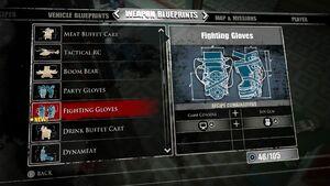Fighting Gloves Blueprint