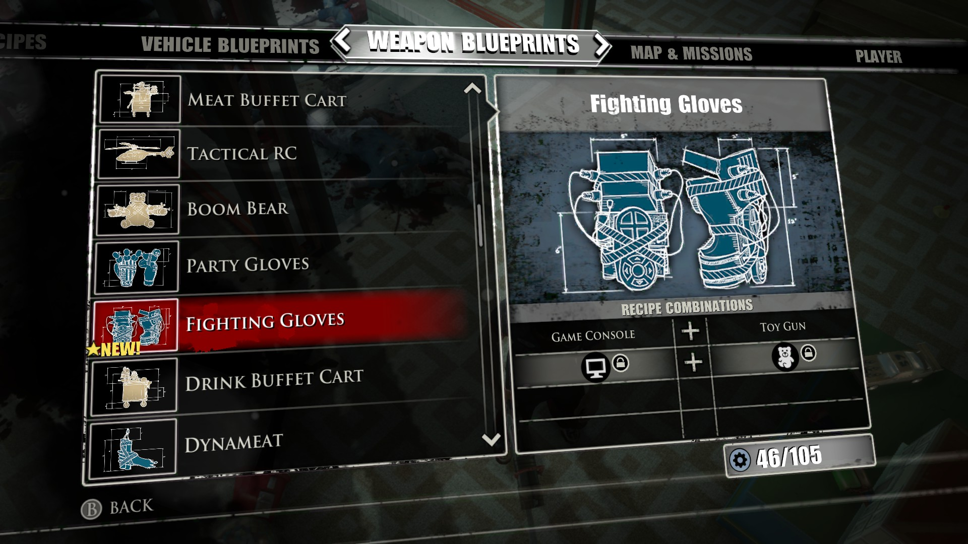 Image fighting gloves blueprintg dead rising wiki fandom fighting gloves blueprintg malvernweather Choice Image