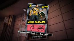 Dead Rising 2 - Armas sagradas - Carta Combo Recompensa