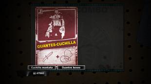 Raída DR2 - Guantes-Cuchilla
