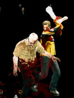 Dead rising Mannequin Male Right Leg attacking (2)
