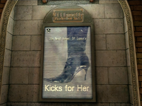 Dead rising ad al fesca kicks for her