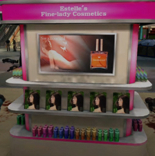 Estelle's Fine-lady Cosmetics (WP) Display