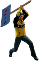 Dead rising protestor sign alternate
