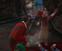 Dead rising grass trimmer heavy attack busted heads (4)