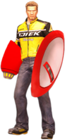 Dead rising protoman blaster and shield holding