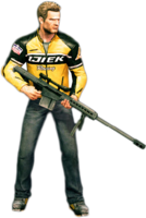 Dead rising sniper rifle holding