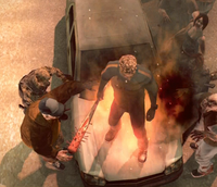 Dead Rising 2 Case Zero Chuck doesnt burn