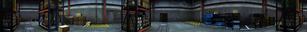 Dead rising maintance tunell warehouse PANORAMA