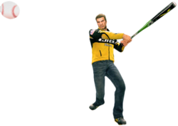 Dead rising metal baseball bat main